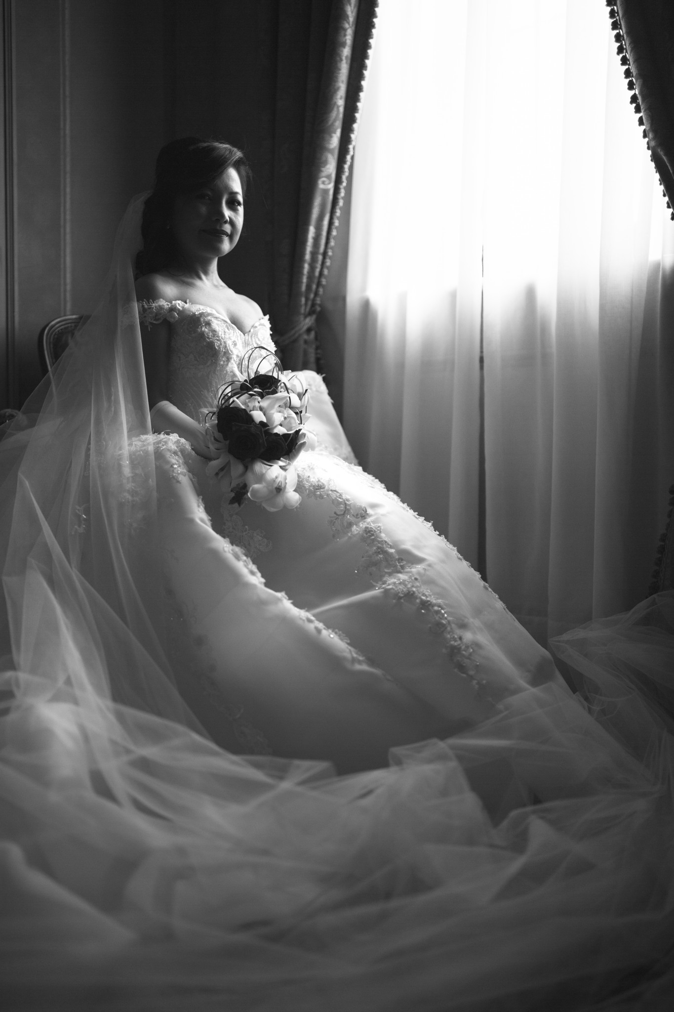 foto a castelbrando di matrimonio