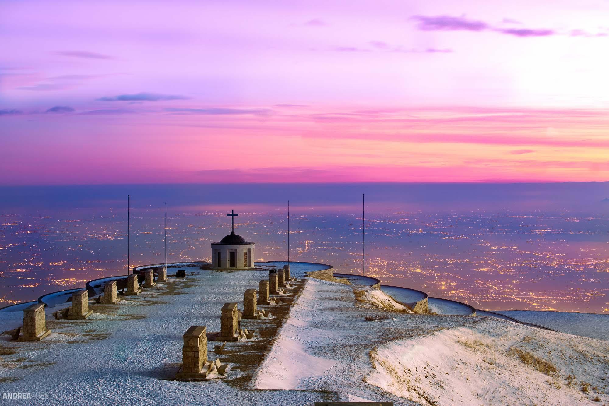 Andrea Prestana - foto chiesetta monte grappa