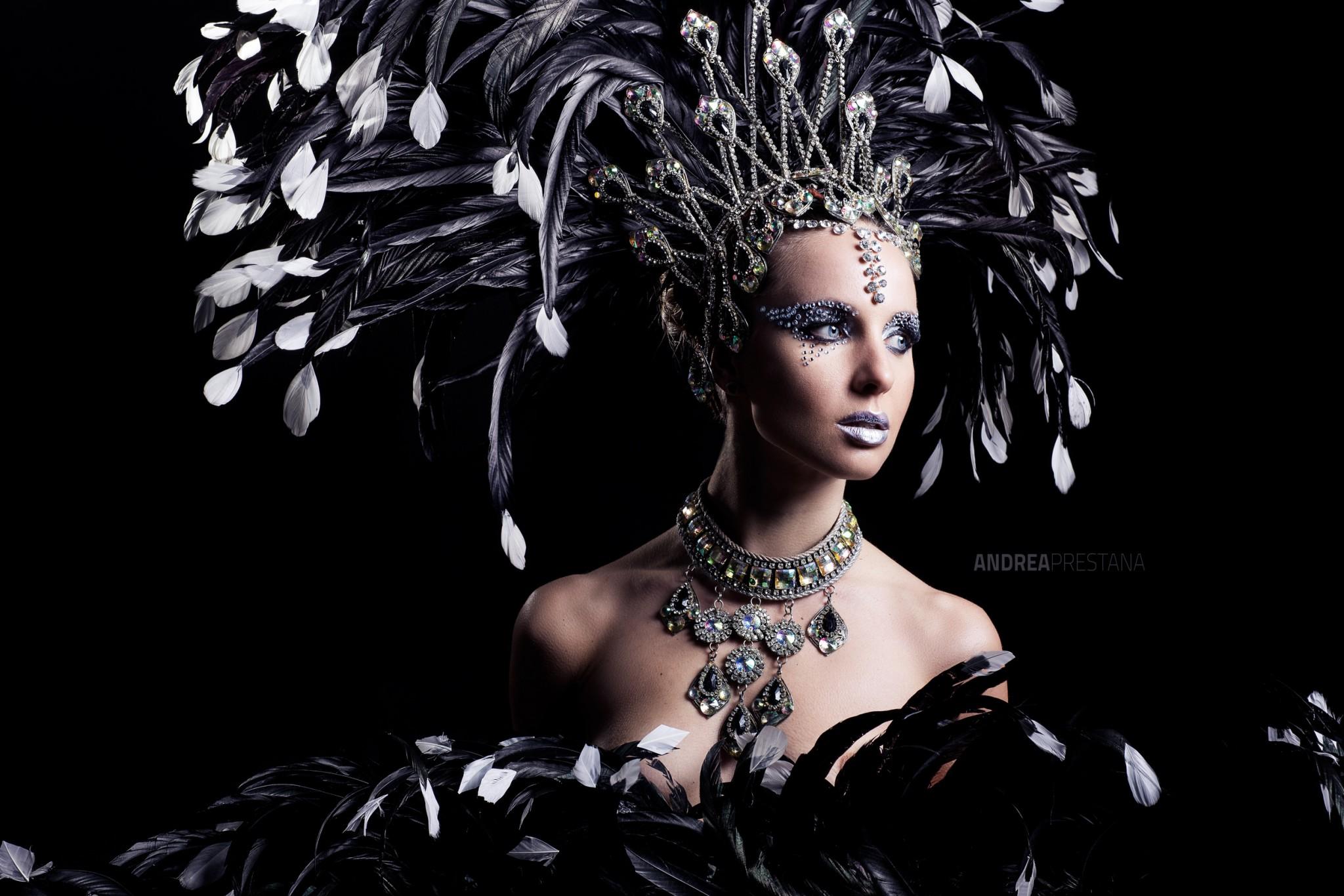 maschera carnevale brasiliano venezia di andrea prestana